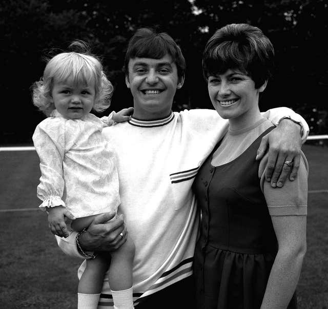Gerry Marsden and family