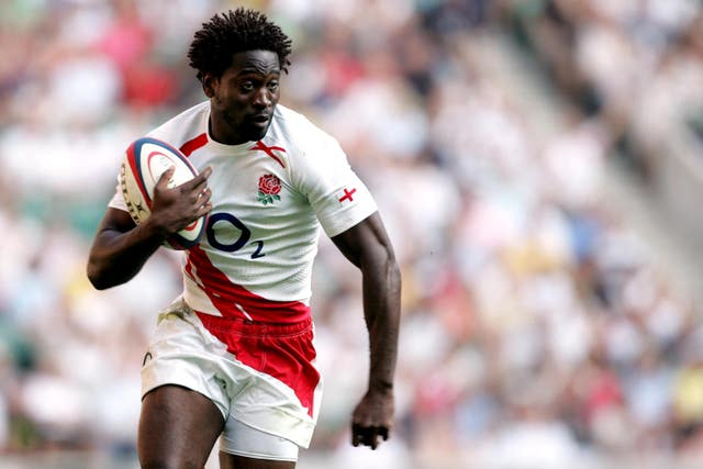 Paul Sackey scored two tries for England