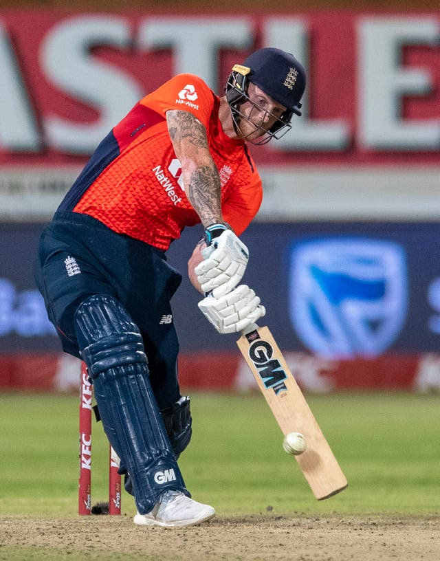 Ben Stokes finished unbeaten on 47