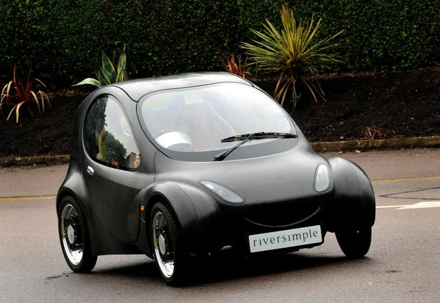 Riversimple hydrogen fuel cell car