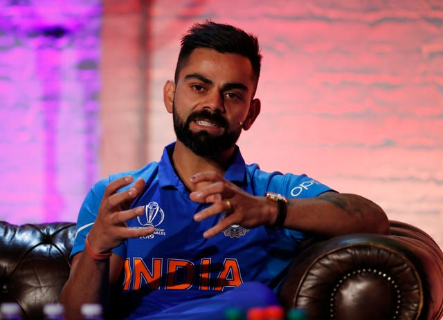 Virat Kohli attempted to play down the significance of the clash against Pakistan (Andrew Boyers/Pool)