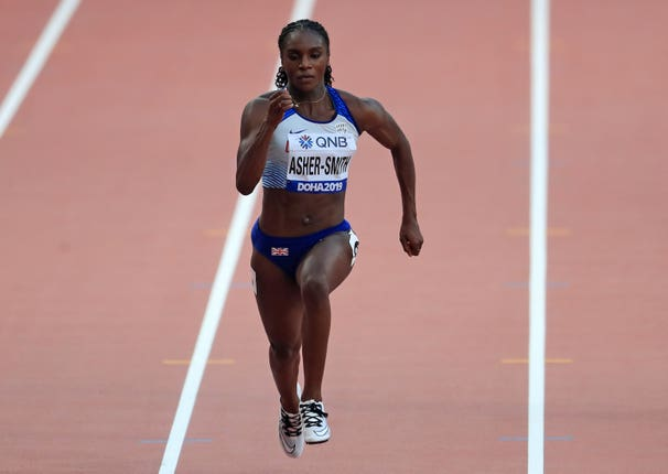 Dina Asher-Smith is through to semi-finals of the women's 100m