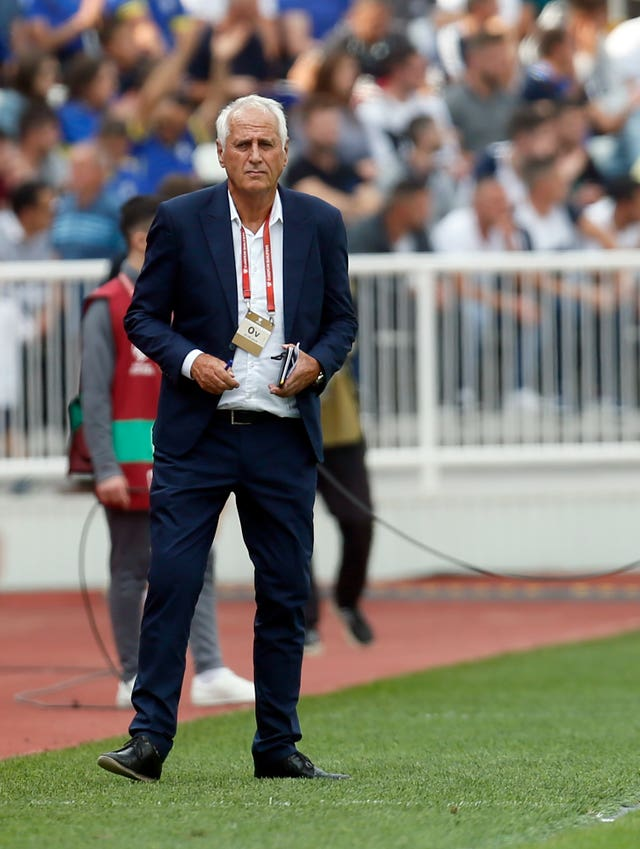 Bernard Challandes has been a huge success with Kosovo