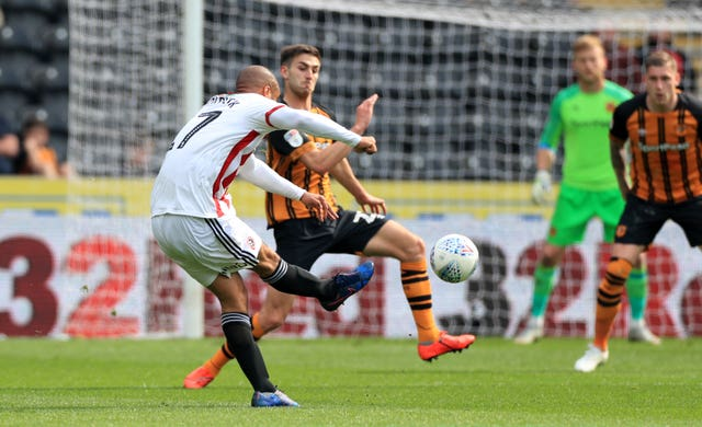 David McGoldrick scored twice as Sheffield United won comfortably at Hull