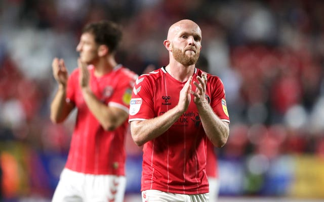 Jonny Williams suffered relegation with Charlton this season