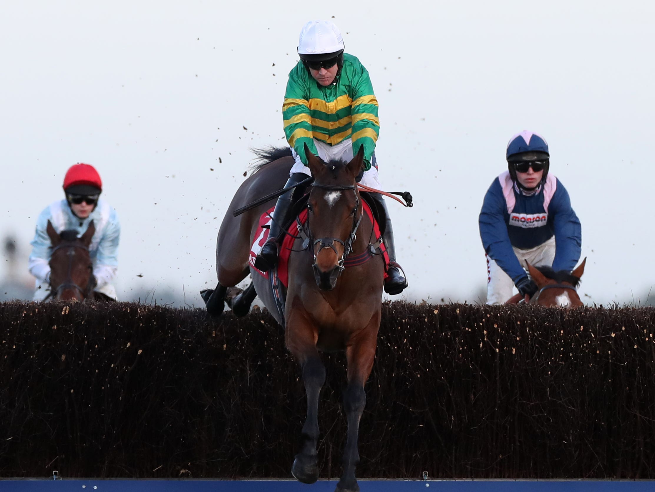 Defi Du Seuil is set for a titanic clash with Altior and Chacun Pour Soi (Bradley Collyer/PA)