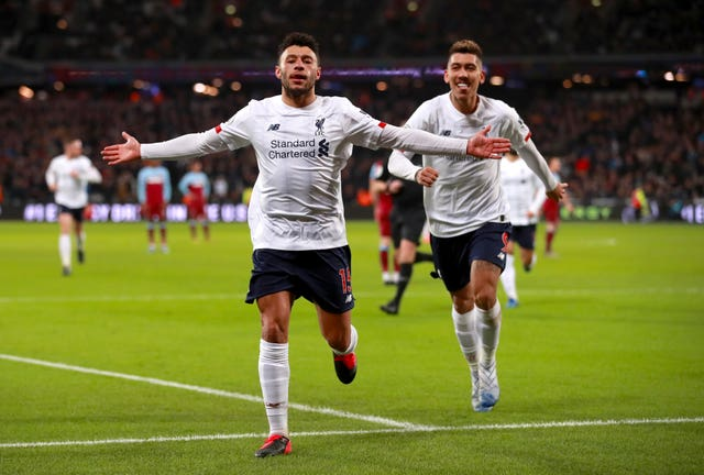 Oxlade-Chamberlain got among the goals for the Reds