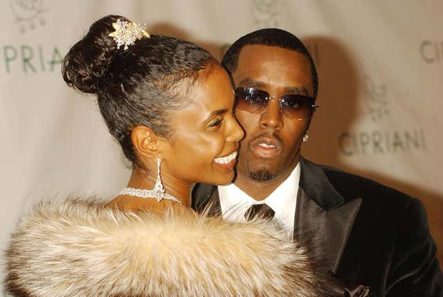 Sean 'Diddy' Combs and Kim Porter