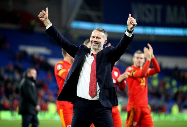 Giggs has guided Wales to UEFA Euro 2020 qualification