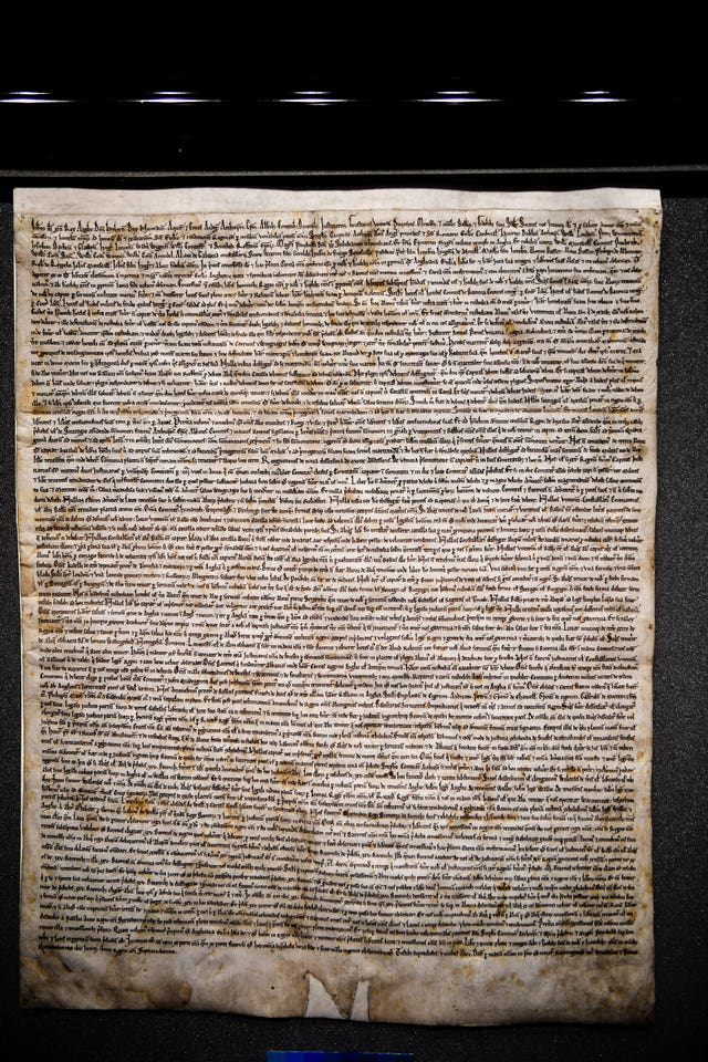 Magna Carta at Salisbury Cathedral