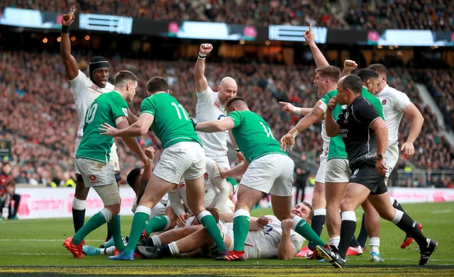 England beat Ireland last time out