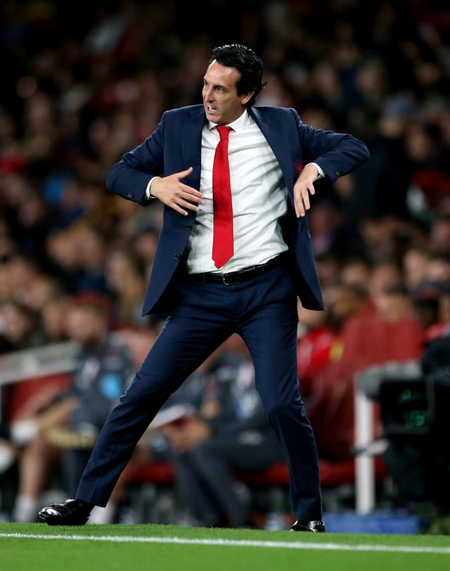 Unai Emery was impressed by the performance of Martinelli