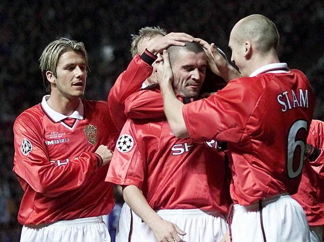Roy Keane led from the front as Manchester United captain