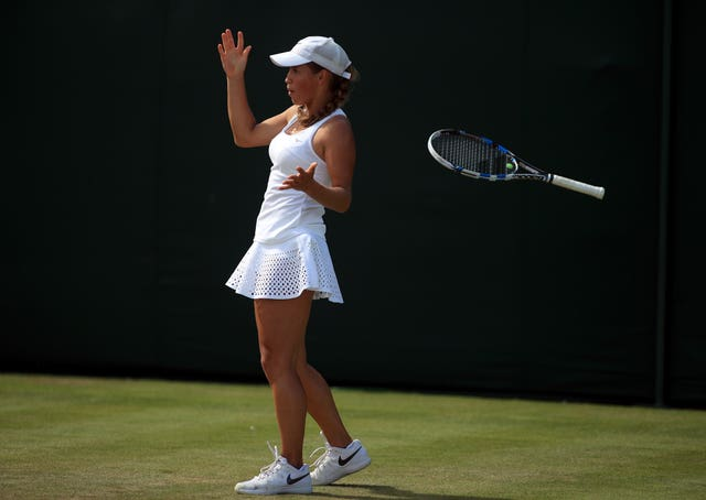 Putintseva is known for showing emotion on court