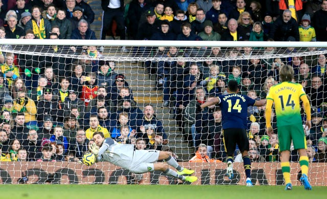 Tim Krul saved the first penalty