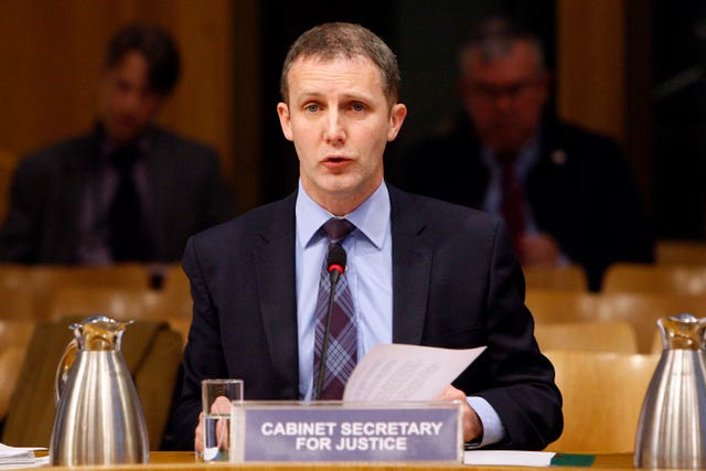 Michael Matheson hopes Holyrood will continue to back the bill (Scottish Parliament/PA)