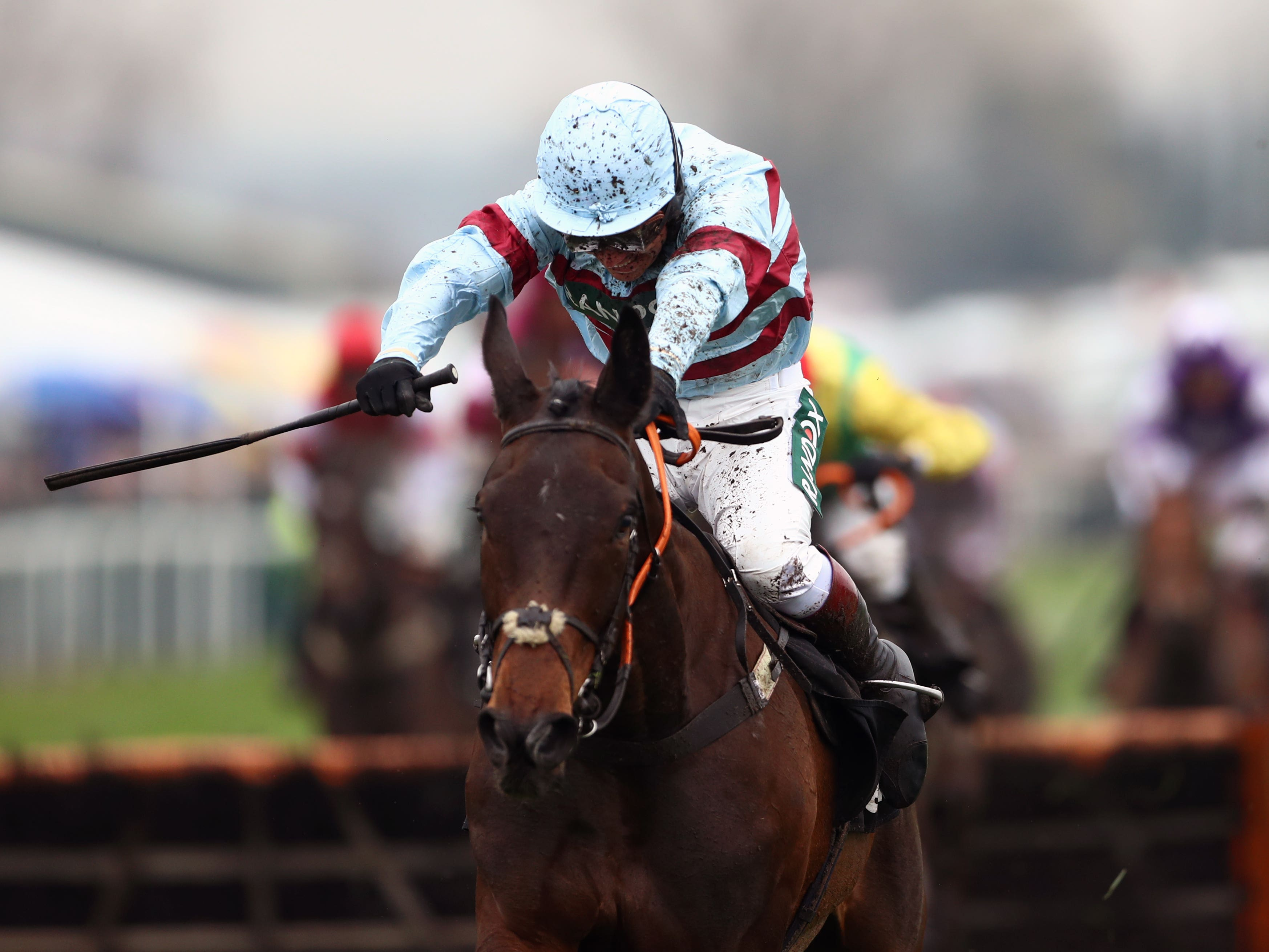 Lalor put up a much-improved performance at Cheltenham on New Year's Day (Tim Goode/PA)