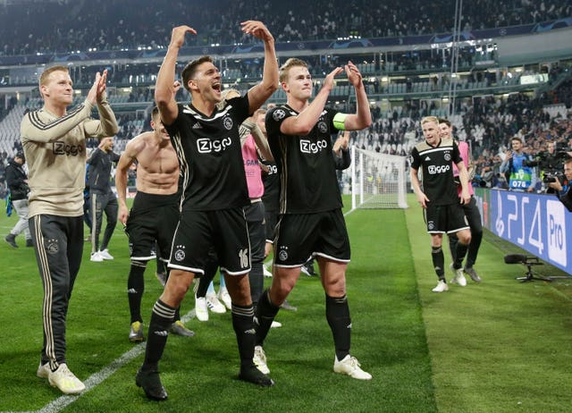 Ajax have extra time off ahead of the Champions League semi-final