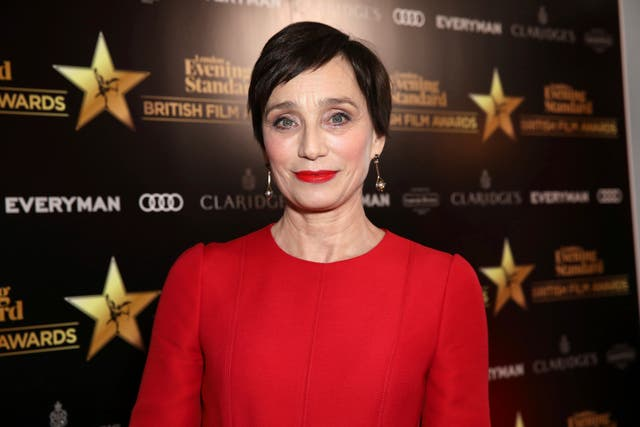 Kristin Scott Thomas was named best actress (Grant Pollard/Invision/AP)