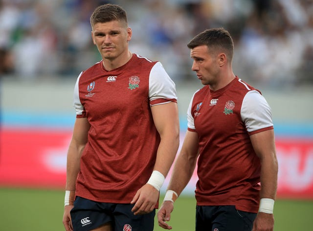 Owen Farrell and George Ford File Photo