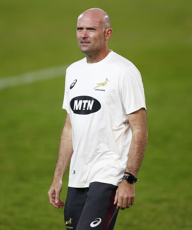 South Africa head coach Jacques Nienaber must quarantine for 10 days