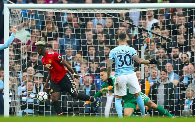 Paul Pogba scored twice as United came from behind to pull off a remarkable win (Nick Potts/PA)