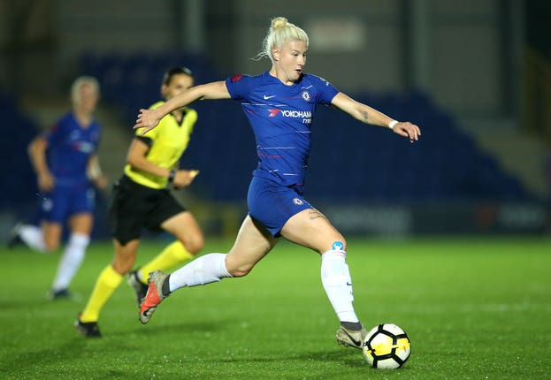Chelsea Women's Bethany England has been handed her first call-up