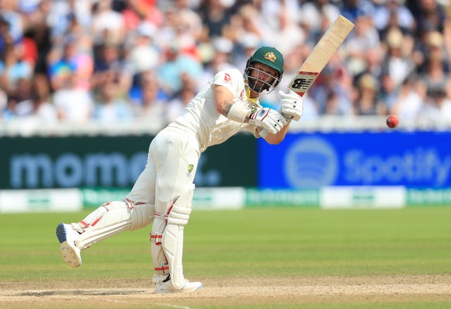 Matthew Wade notched a half-century for Australia