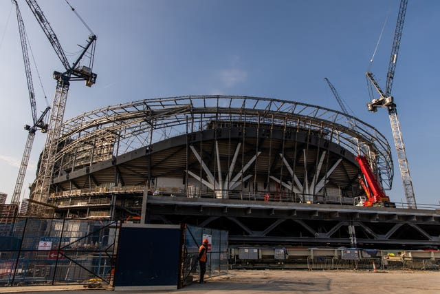 Spurs' new stadium will not be hosting Liverpool next month.