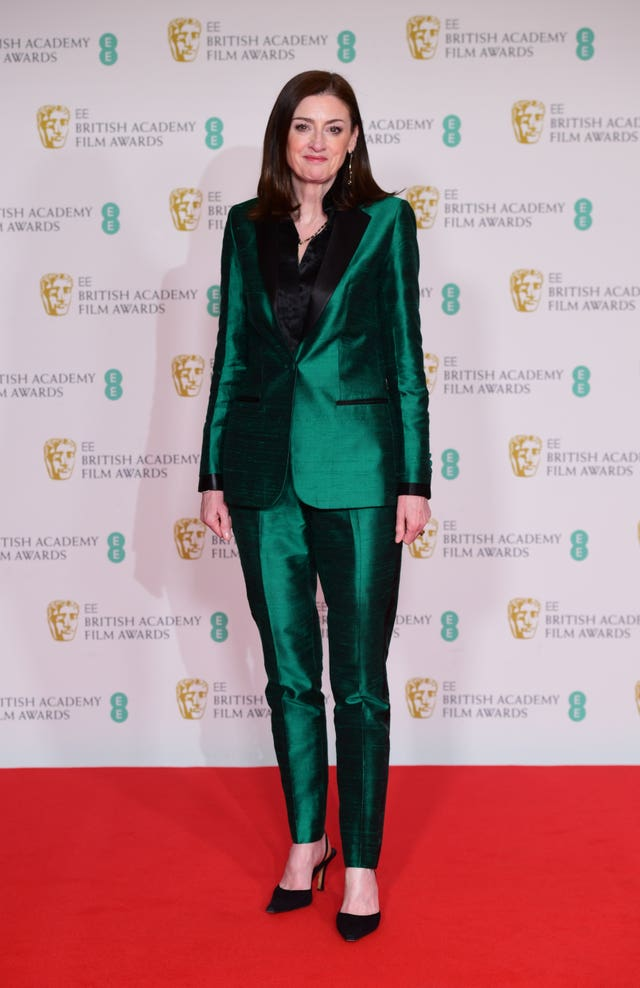 Bafta Chief Executive Amanda Berry arrives for the EE BAFTA Film Awards