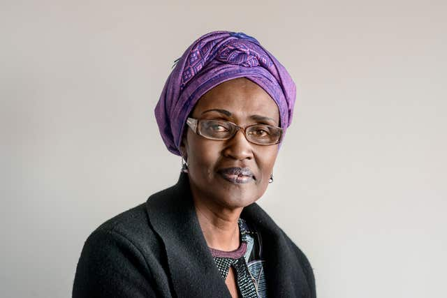 Winnie Byanyima announced a 'comprehensive action plan to stamp out abuse' (Tineke D'haese/Oxfam/PA)