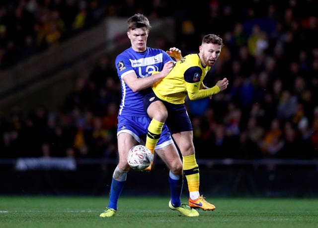 Matty Taylor has been on loan at Oxford this season