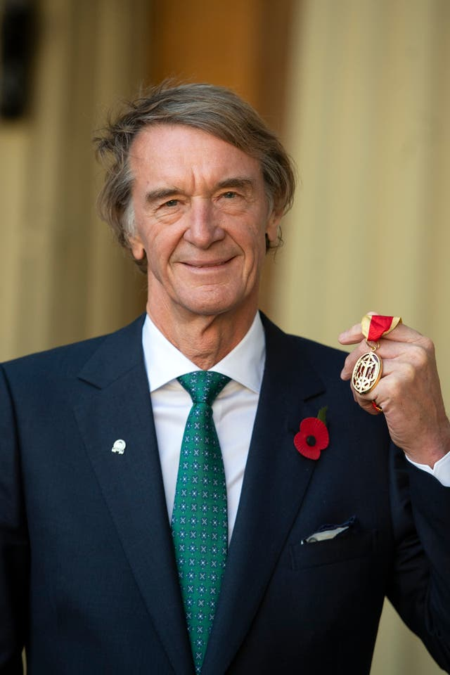 Ineos boss Sir Jim Ratcliffe