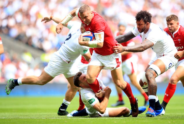 Hadleigh Parkes is keen to turn Twickenham disappointment into World Cup success with Wales