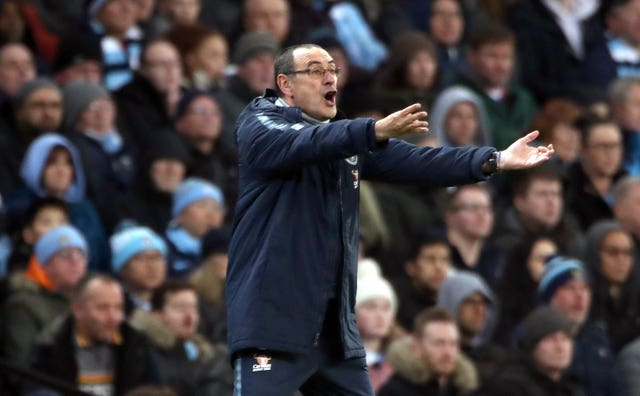 Chelsea manager Maurizio Sarri has plenty to think about