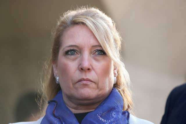 Denise Fergus, mother of murdered James Bulger (Jonathan Brady/PA)