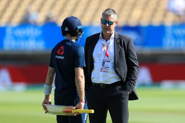ECB managing director Ashely Giles (right) had expressed a preference for a homegrown appointment.
