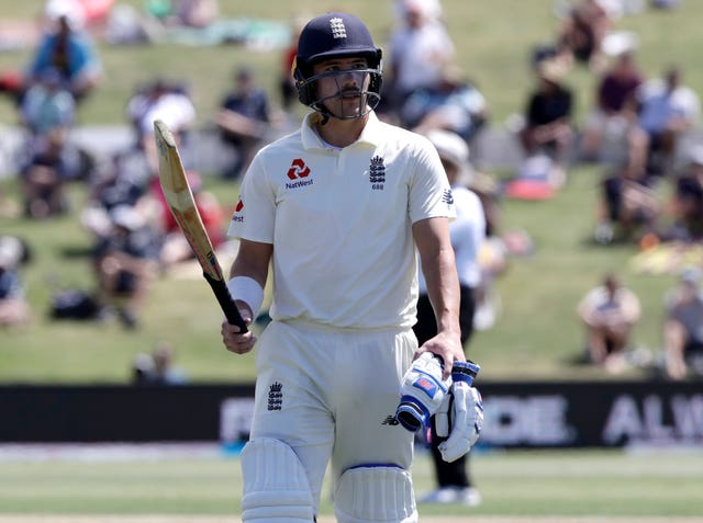 Rory Burns is expected to be fit to bat in the second innings for England