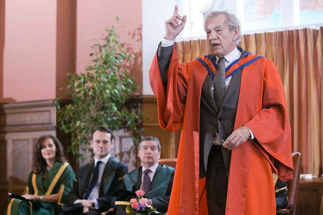 Sir Ian McKellen honoured