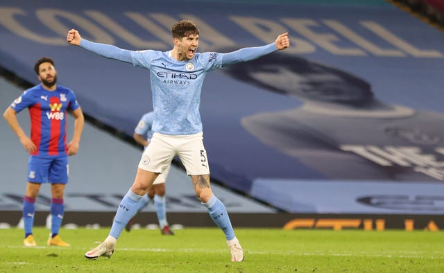 John Stones scored twice in the 4-0 win