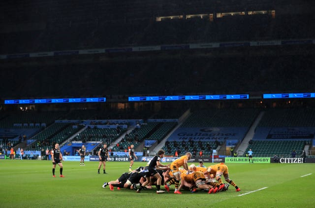 Top class rugby union has returned, but behind closed doors