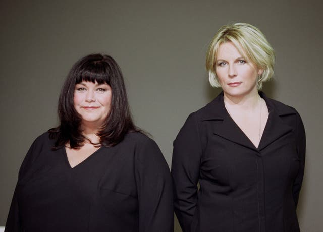 Dawn French (left) and Jennifer Saunders (Michael Crabtree/PA)