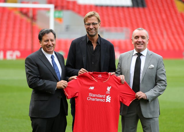 Ian Ayre (right) played a key role in Jurgen Klopp's appointment as Liverpool manager