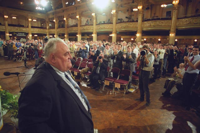 Politics – Liberal Democrat Party Conference – MP Cyril Smith – Blackpool