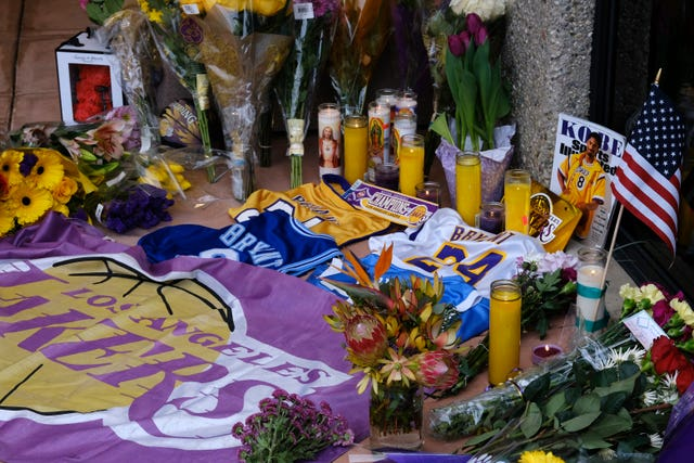 More tributes were laid