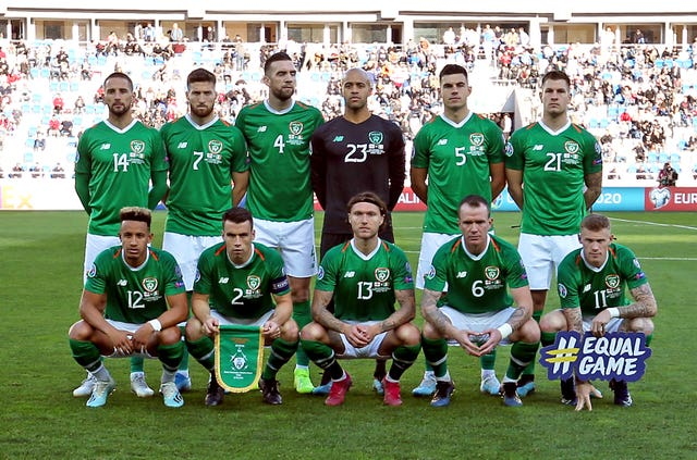 Republic of Ireland take on Georgia on Tuesday