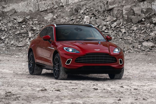 Aston Martin's first sports utility vehicle is named the DBX (Aston Martin/PA)