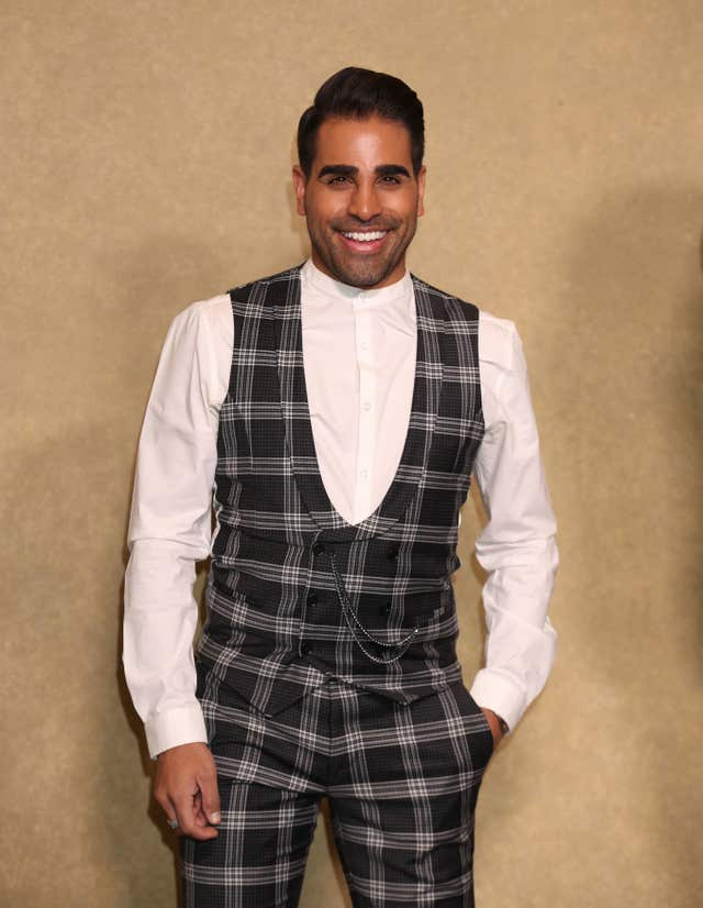 Dr Ranj Singh at an event