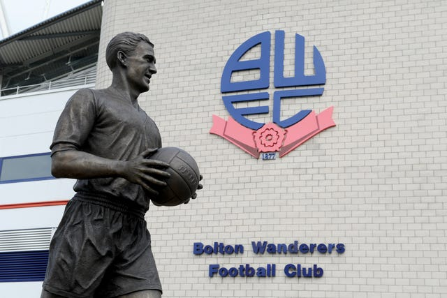 There is a statue of Nat Lofthouse outside Bolton's stadium