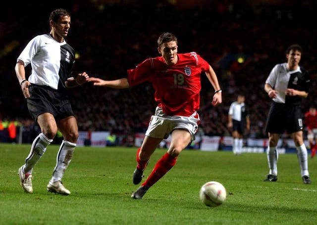 Stewart Downing was handed his England debut by Sven-Goran Eriksson in a 0-0 friendly with Holland at Villa Park in 2005.